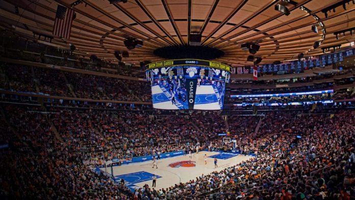 Madison Square Garden New York Knicks