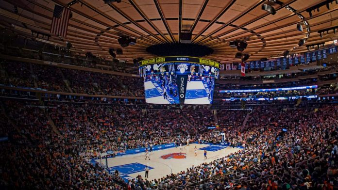 Madison Square Garden New York Knicks
